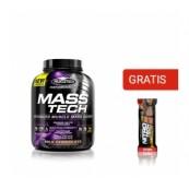 Mass Tech Performance Series 3.2kg + Nitro-Tech Crunch Bar Cookies & Cream Gratis