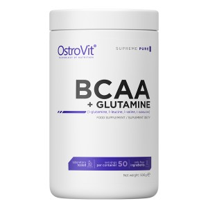 Ostrovit BCAA + Glutamine 500 gr