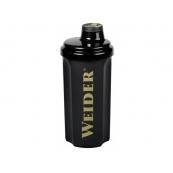 Shaker Weider negru 500ml cu filet